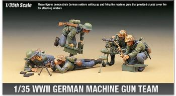 Academy 1:35 - WWII German machine gun team (Replaced by ACA13259)