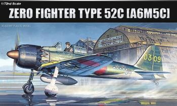 Academy 1:72 - Mitsubishi A6M5c Zero Fighter type 52c (Replaces ACA02176)