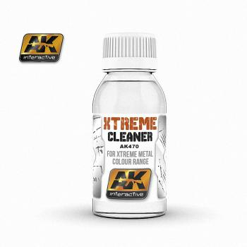 AK Interactive - 100ml Extreme Cleaner (For Extreme Metal Colour range)