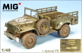 Mig Productions 1:48 - US 3/4 Ton Dodge WC 51