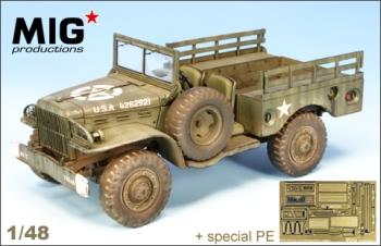 Mig Productions 1:48 - US 3/4 Ton Dodge WC 51
