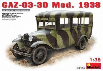Miniart 1:35 - GAZ-03-30 Mod.1938