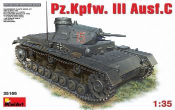 Miniart 1:35 - Pz.Kpfw.III Ausf.C