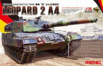 Meng Model 1:35 - German Main Battle Tank Leopard 2 A4