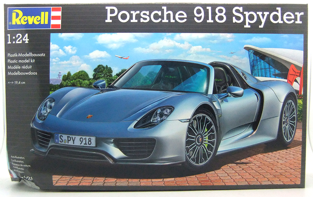 rv07026 d revell 1 24 porsche 918 spyder damaged box ebay. Black Bedroom Furniture Sets. Home Design Ideas