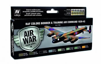 Model Air Set - RAF & FAA Bomber Air Command & Training Air 1939 - 45