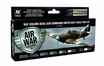 Model Air Set - RAF & FAA SEAC (Air Command South East Asia) 1942-45