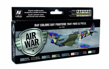 Model Air Set - RAF Colours Day Fighters 1941 - 1945 & P.R.U.