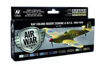 Model Air Set - RAF Colours Desert Scheme & M.T.O 1940 - 1945