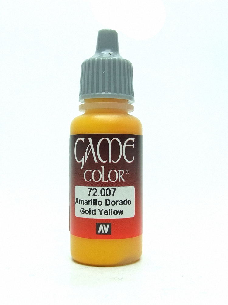 Game Color - Gold Yellow
