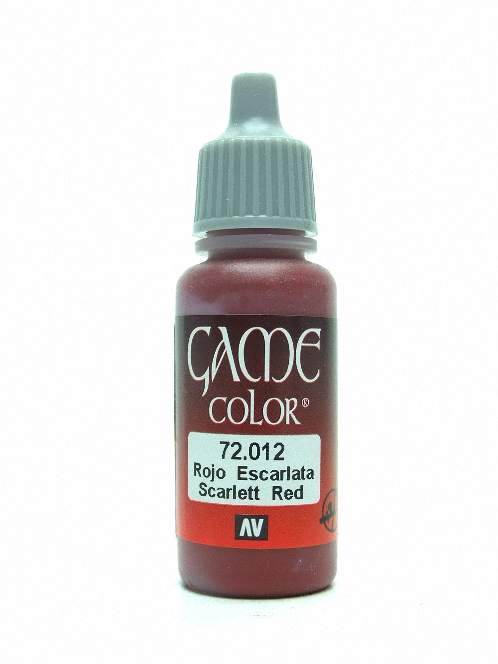 Game Color - Scar Red