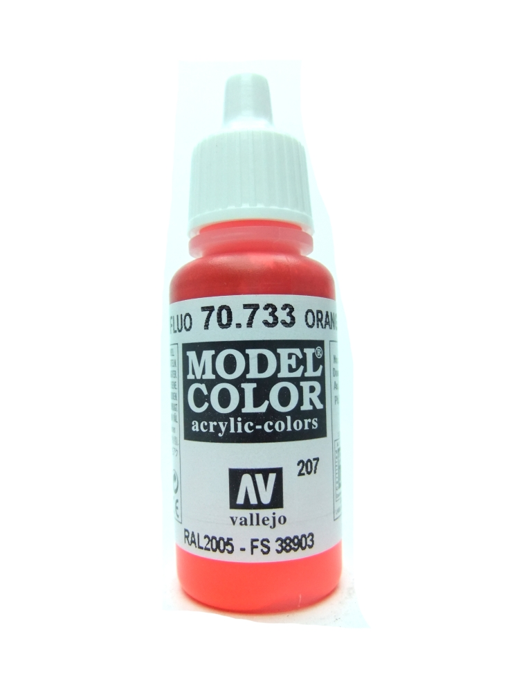 Model Color - Fluorescent Orange