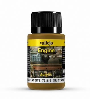 Vallejo Weathering Effects 40ml - Oil Stains