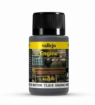 Vallejo Weathering Effects 40ml - Engine Grime