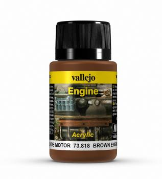 Vallejo Weathering Effects 40ml - Brown Engine Soot