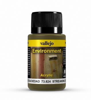 Vallejo Weathering Effects 40ml - Streaking Grime