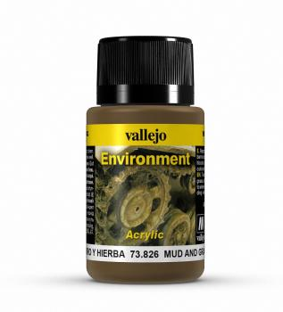Vallejo Weathering Effects 40ml - Mud and Grass Effect