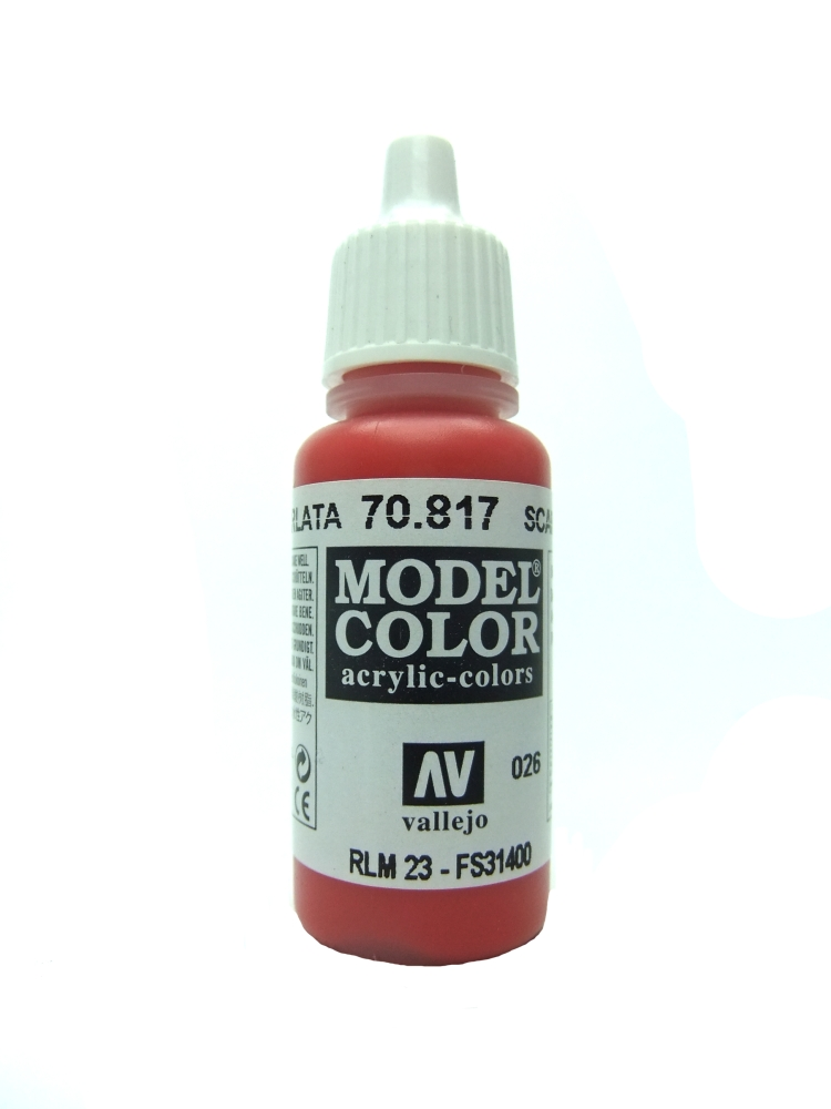 Model Color - Scarlet