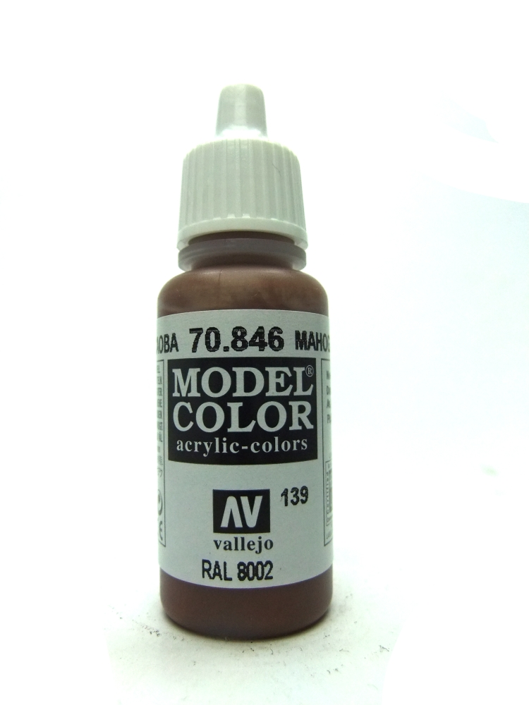 Model Color - Mahogany Brown