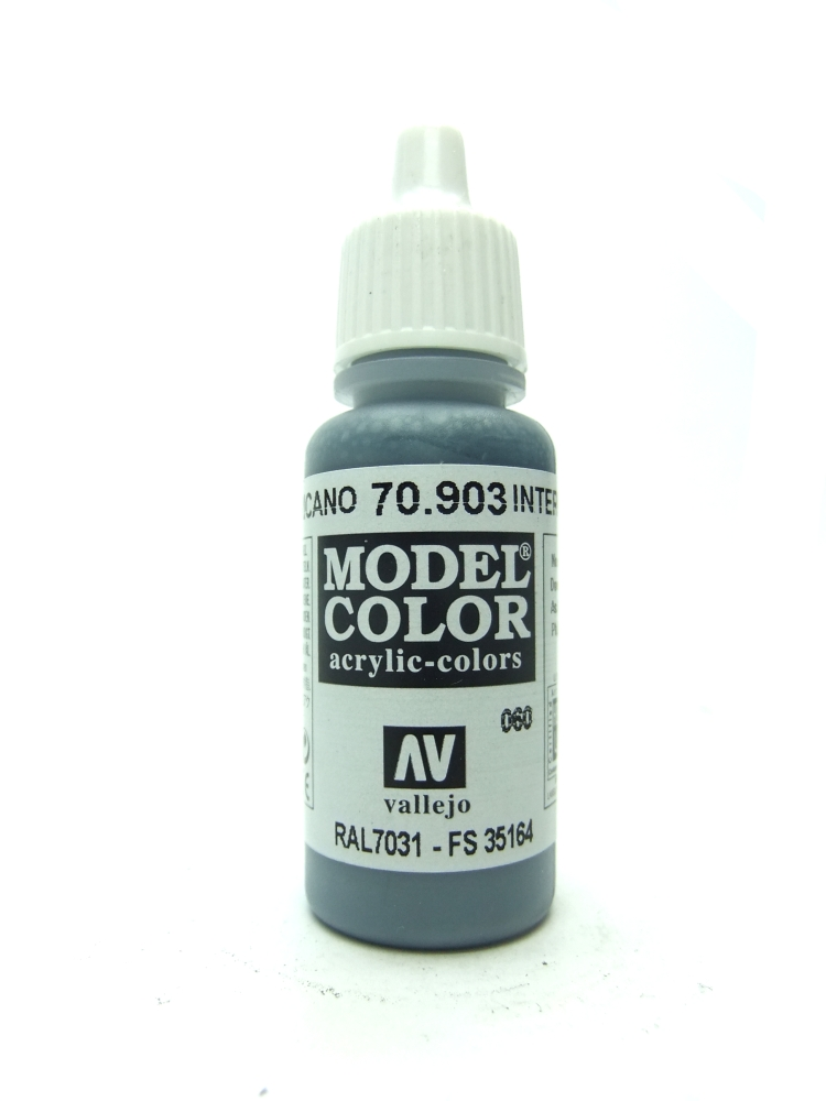Model Color - Intermediate Blue