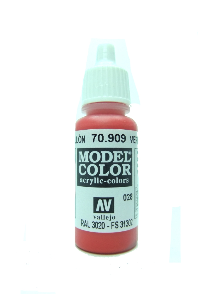 Model Color - Vermillion
