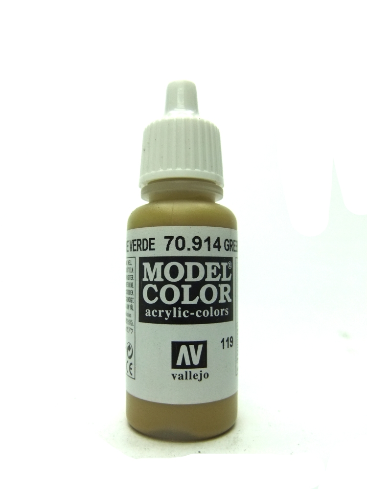 Model Color - Green Ochre