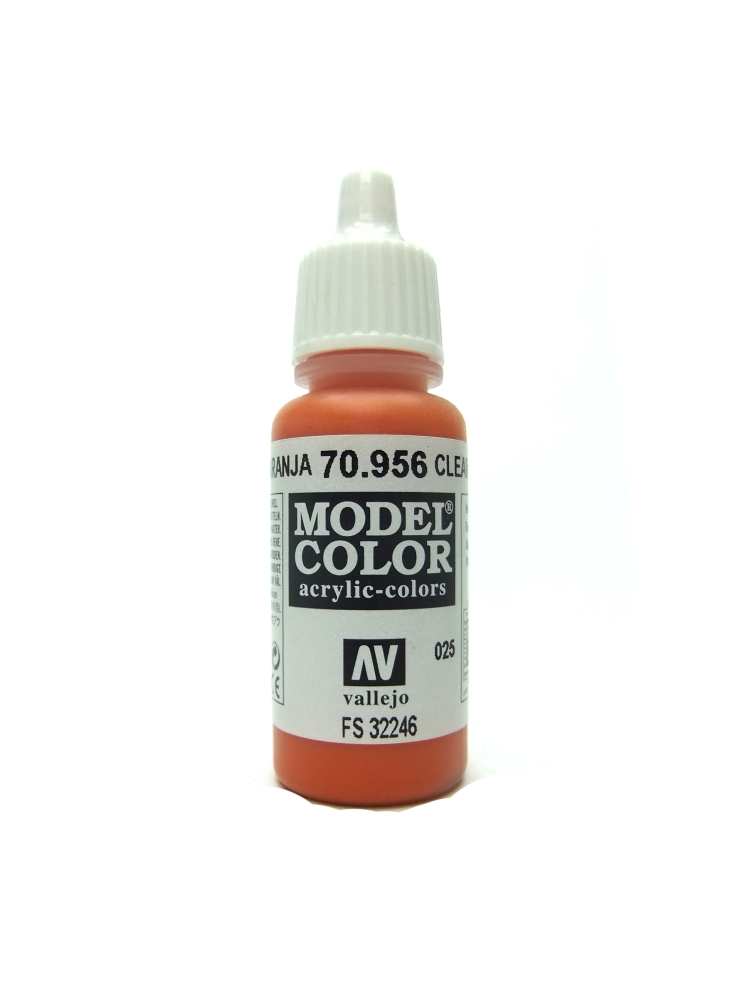 Model Color - Clear Orange