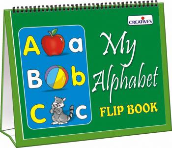 Creative Pre-School - My Alphabet Flip Book (Packed in a Box)