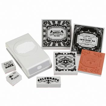 EK Success - Stamp and Punch Set: It�s a Party