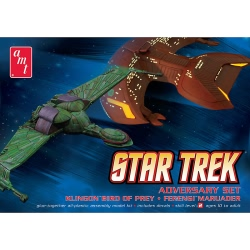 AMT - 2 Pc Adversary Set, Klingon vs Ferenghi