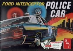 AMT - Ford Galaxie Interceptor Police Car 1970 Kit
