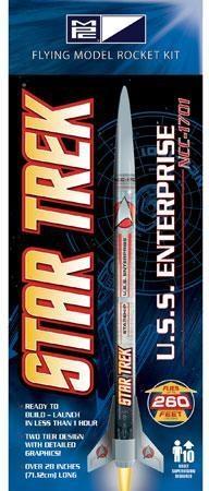MPC - Star Trek USS Enterprise NCC-1701 Rocket - Model Kit