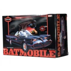 Polar Lights - Batmobile 1966 Tv Series With Batman & Robin Figs.- Snap Kit