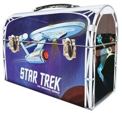 Polar Lights - Star trek TOS 1/1000 Enterprise Model w/ Lunchbox