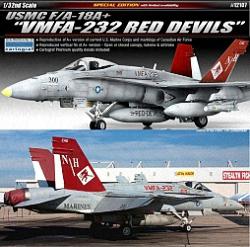 Academy 1:32 - USMC F/A-18A+ 'VMFA-232 Red Devils'
