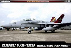 Academy 1:32 - USMC F/A-18 D Hornet VMFA(AW)-242