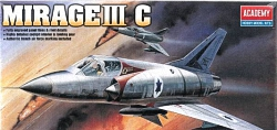 Academy 1:48 - Dassault Mirage IIIC (Replaces ACA01622)