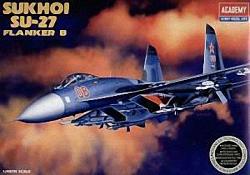 Academy 1:48 - Sukhoi SU-27 Flanker B (Replaces ACA02131)