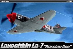 Academy 1:48 - Lavochkin LA-7 Russian Ace