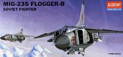 Academy 1:72 - Mikoyan MiG-23S Flogger(Replaces ACA01621)