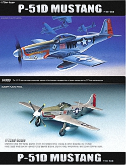 Academy 1:72 - North American P-51D Mustang (Replaces ACA02132)