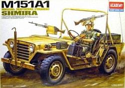 Academy 1:35 - IDF M-151a1 Shimira