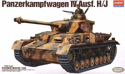 Academy 1:35 - Pz.Kpfw.IV Ausf.H/J (Replaces ACA1328)