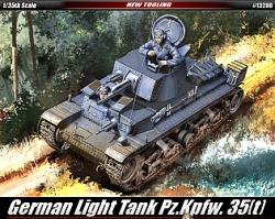Academy 1:35 - Panzerkampfwagen 35(t)