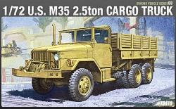 Academy 1:72 - US M35 2.5ton Cargo Truck