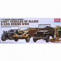 Academy 1:72 - Light Vehicles of Allied and Axis