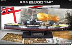 Academy 1:350 - HMS Warspite. Queen Elizabeth Battleship