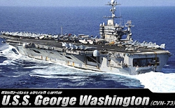 Academy 1:720 - USS George Washington (CVN-73)