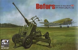AFV Club 1:35 - British Bofors 40mm Mk III Anti Aircraft Gun