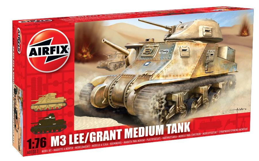 Airfix 1:76 - Lee Grant Tank